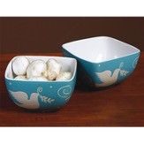 Peace Dove Bowls, Set of 2