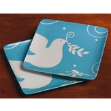 Peace Dove Dessert Plates, Set of 2