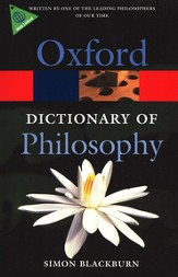 Oxford Dictionary of Philosophy, Second Edition, Revised