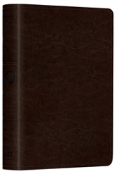 ESV Pocket New Testament with Psalms and Proverbs--soft leather-look, coffee