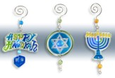 Lighted Hanukkah Ornaments, Set of 3