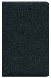 ESV Heirloom Thinline Bible, Genuine Calfskin Leather, Black