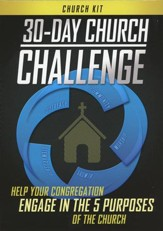 30-Day Church Challenge Church Kit