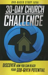 30-Day Church Challenge DVD-Based Study for Individuals & Small Groups