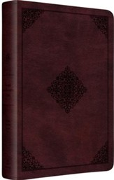 ESV Gospel Transformation Bible (TruTone, Mahogany, Ornament Design)