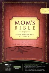 NCV Mom's Bible: God's Wisdom for Mothers, Imitation Leather
