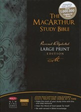 NKJV MacArthur Study Bible Large Print Hardcover - Imperfectly Imprinted Bibles