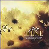 Arise Shine For Your Light Has Come Plaque