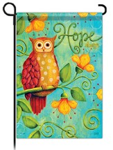 Hope Always, Owl Flag, Small