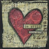 Be Still, Heart Plaque