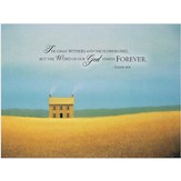 But, the Word of God Stands Forever Plaque