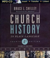 Church History in Plain Language, Fourth Edition - unabridged audiobook on MP3-CD