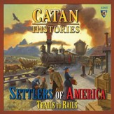 Catan Histories: Settlers of America Trails to Rails Game