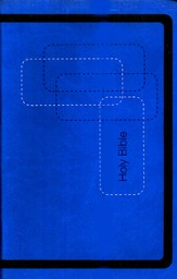 KJV Gift Bible - LeatherSoft/Cobalt