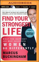 Find Your Strongest: Life What the Happiest and Most Successful Women Do Differently - unabridged audiobook on MP3-CD