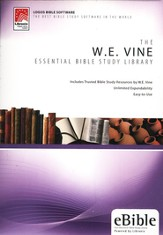 W.E. Vine Essential Bible Study Library