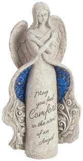 May You Feel Comfort, Angel Figurine