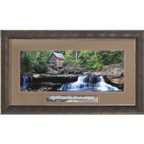 Old Mill, In Quietness and Trust Framed Art
