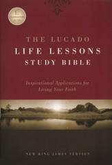 The NKJV Lucado Life Lessons Study Bible - Hardcover