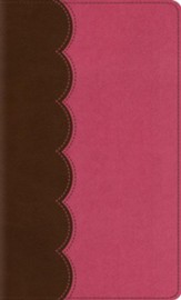 ESV Kid's Thinline Bible (TruTone, Chocolate/Bubble Gum), Imitation Leather