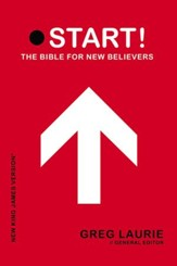 NKJV Start! The Bible for New Believers - Trade Paper Red - Slightly Imperfect
