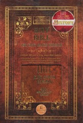 KJV 1611 Commemorative Edition - Hardcover Brown - Slightly Imperfect