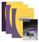 Saxon Math 8/7 Kit & DIVE CD-Rom, 3rd Edition