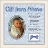 Gift From Above Photo Frame, Boy
