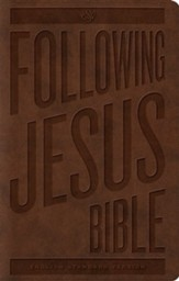 ESV Following Jesus Bible, Trutone, Brown
