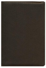 ESV Heirloom Wide-Margin Reference Bible, Dark-Brown Goatskin Leather