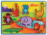 Chunky Jungle Animals Puzzle
