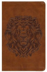 ESV Kid's Thinline Bible, TruTone Imitation Leather, Royal Lion - Imperfectly Imprinted Bibles
