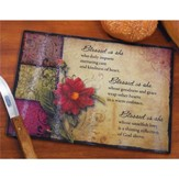 Blessed Is She--Cutting Board