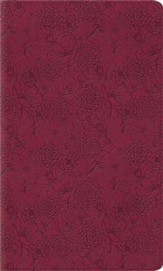 ESV Kid's Thinline Bible, TruTone Imitation Leather, Pink Petals