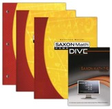 Saxon Math 7/6 Kit & DIVE CD-Rom, 4th Edition