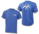 Duck Commander Logo Shirt, Blue, Large