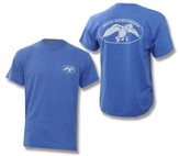 Duck Dynasty, Duck Commander Logo Shirt, Blue, Medium