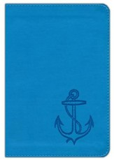 ESV Kid's Compact Bible, TruTone Imitation Leather, Ocean Anchor