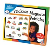 Stick 'Em Magnets, Vehicles