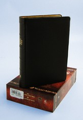 The King James Study Bible, 400th Anniversary Edition Dark Brown, Thumb Indexed