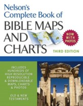 Nelson's Complete Book of BIble Maps and Charts, 3rd Edition - eBook