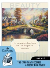 Thomas Kinkade, Get Well Card and Tissue Box Cover