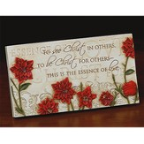 Essence of Love Plaque