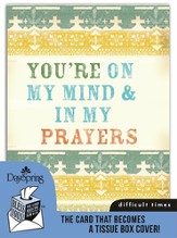 On My Mind, Difficult Times Card and Tissue Box Cover