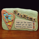Grandma Hugs Plaque