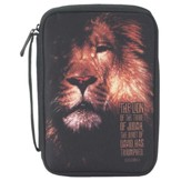 The Lion of the Tribe of Judah Bible Cover, Small, Thinline