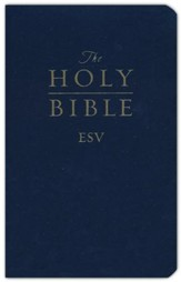 ESV Gift and Award Bible, Imitation Leather, Blue