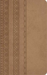 KJV Personal Size Reference Bible, Leathersoft, Brown Sugar
