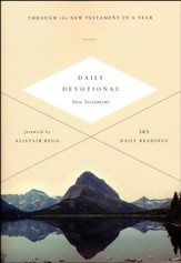 ESV Daily Devotional New Testament: Through the New Testament in a Year, softcover