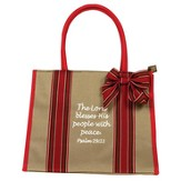 The Lord Blesses His People, Canvas Tote